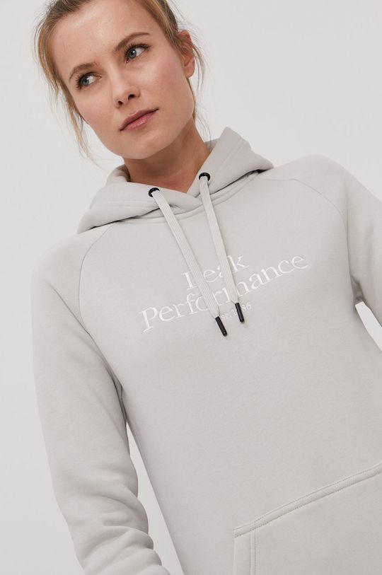 jasny szary Peak Performance - Bluza