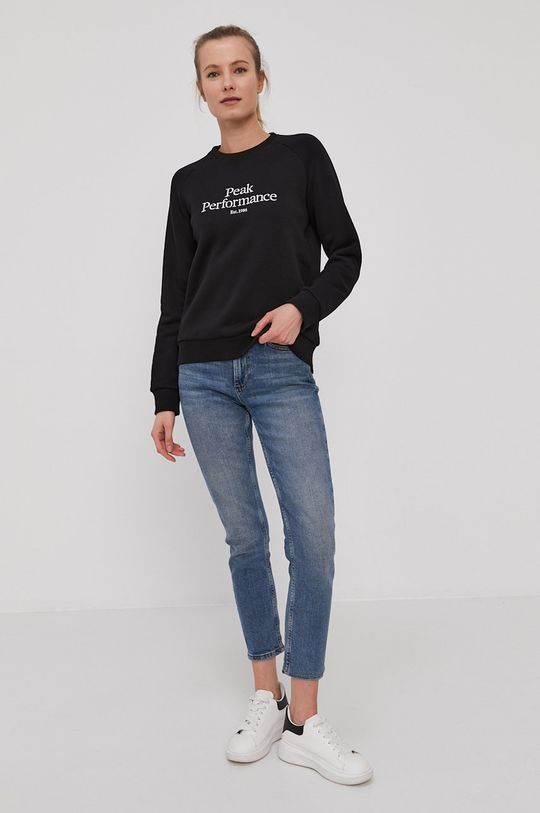 Peak Performance - Bluza czarny