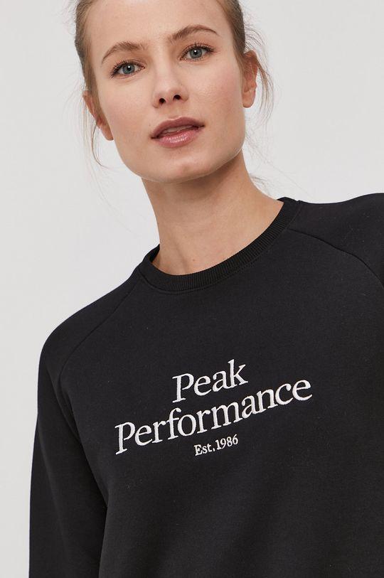 czarny Peak Performance - Bluza