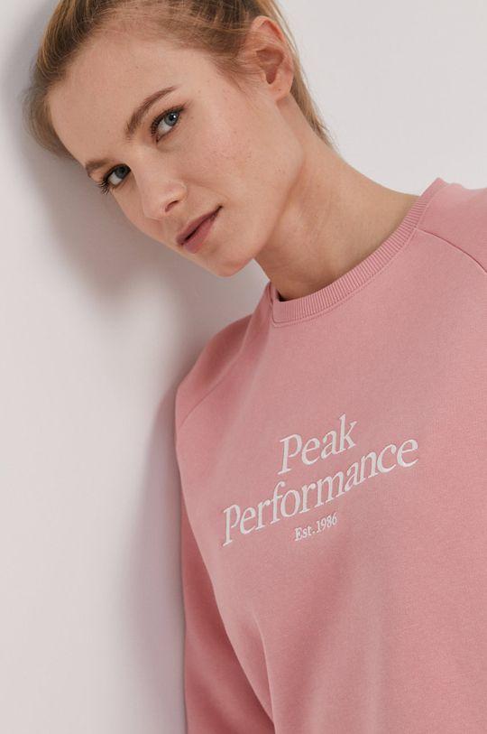 staroružová Peak Performance - Mikina