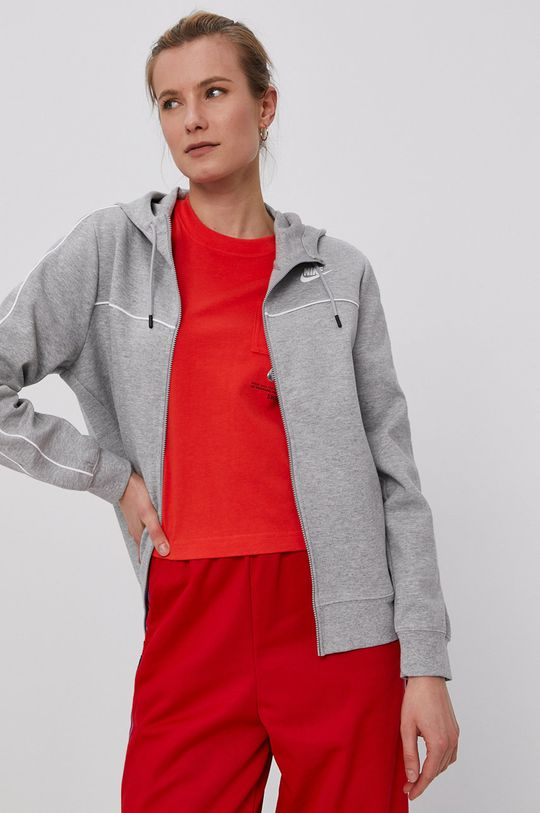 jasny szary Nike Sportswear - Bluza Damski