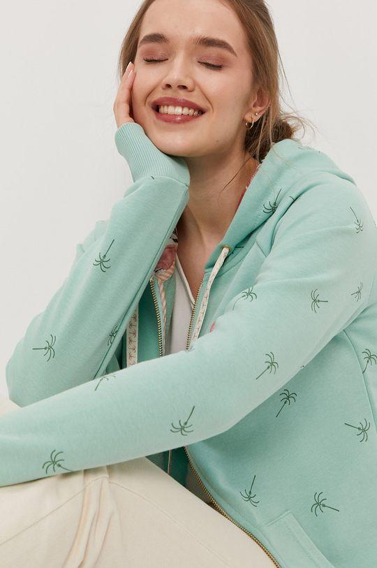 zielony Femi Stories - Bluza bawełniana Harun