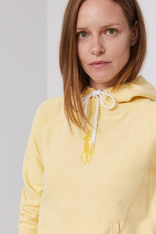 žltá Polo Ralph Lauren - Bavlnená mikina