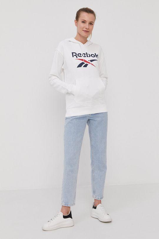 Reebok - Mikina biela