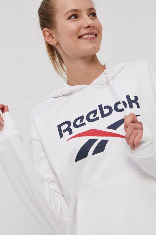biela Reebok - Mikina
