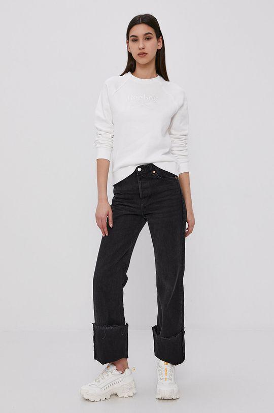 Reebok Classic - Bluza bawełniana biały