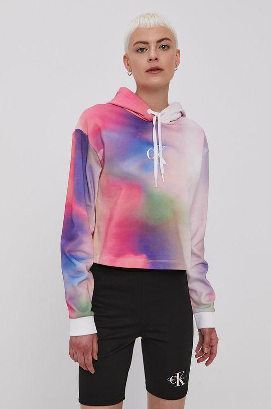 Calvin Klein Jeans - Bavlnená mikina viacfarebná