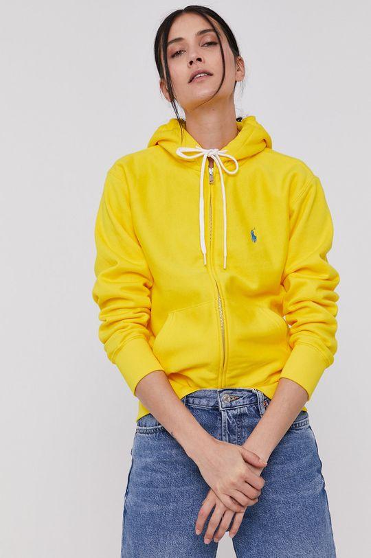žltá Polo Ralph Lauren - Mikina Dámsky