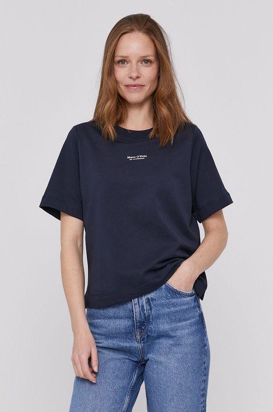 granatowy Marc O'Polo - T-shirt Damski