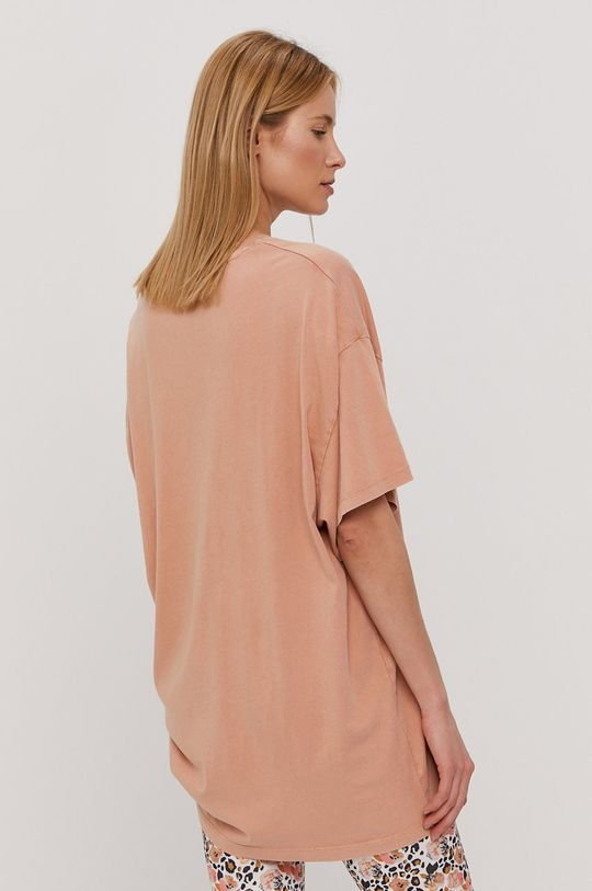 pastelowy różowy Roxy - T-shirt
