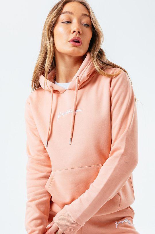 różowy Hype - Bluza SIGNATURE