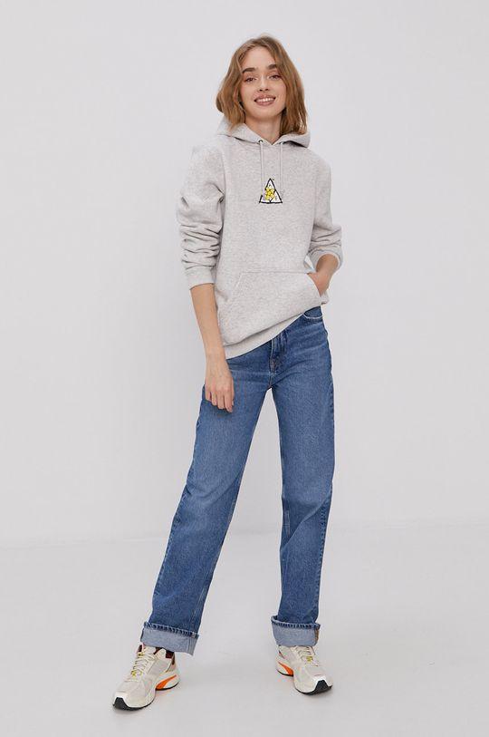 HUF - Bluza jasny szary