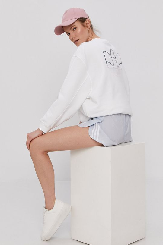 alb adidas Originals - Bluza De femei