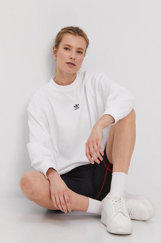 biały adidas Originals - Bluza Damski