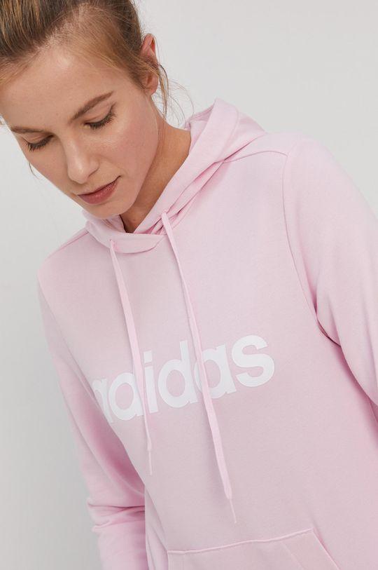 adidas - Mikina pastelová ružová