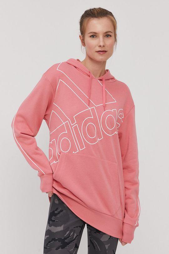 różowy adidas - Bluza Damski