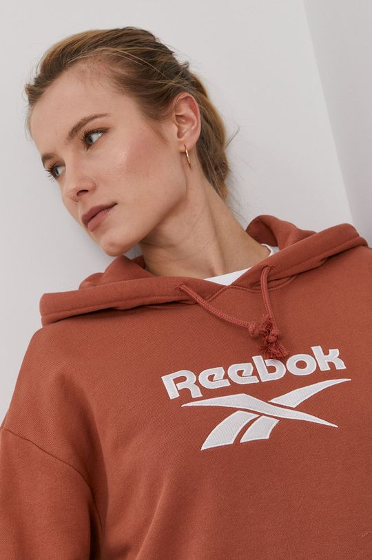 brązowy Reebok Classic - Bluza