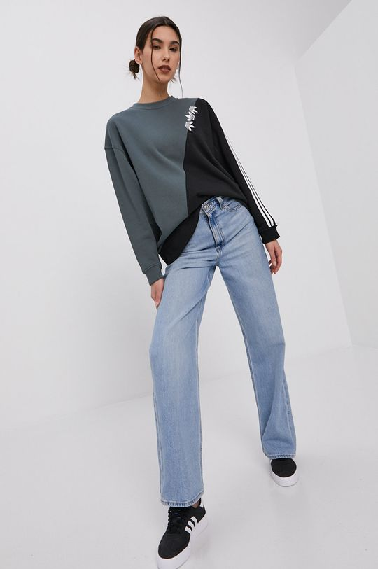 adidas Originals - Bluza bawełniana niebieski