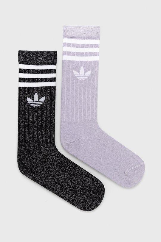 sivá adidas Originals - Ponožky (2-pak) Dámsky