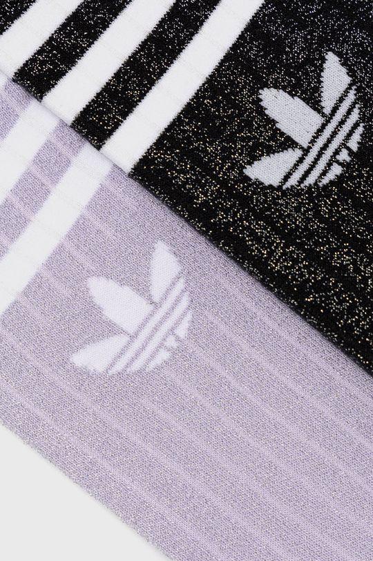 adidas Originals - Ponožky (2-pak) sivá