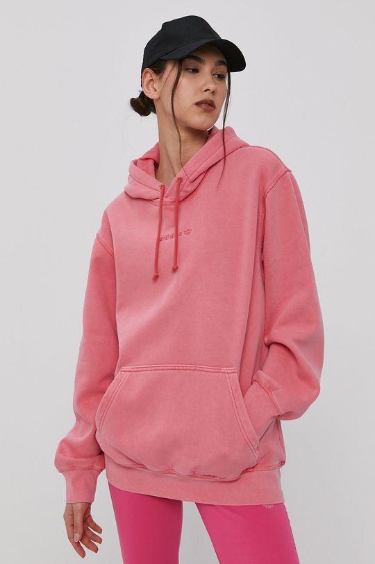 różowy adidas Originals - Bluza Damski