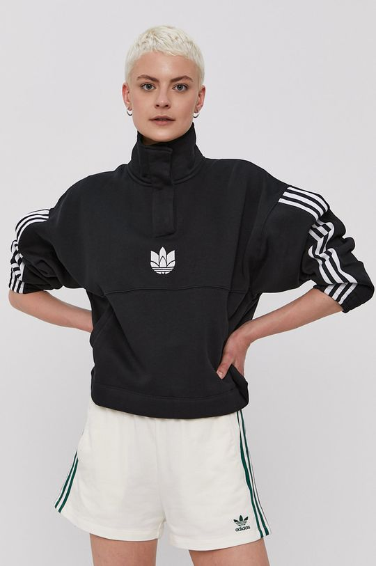 czarny adidas Originals - Bluza Damski