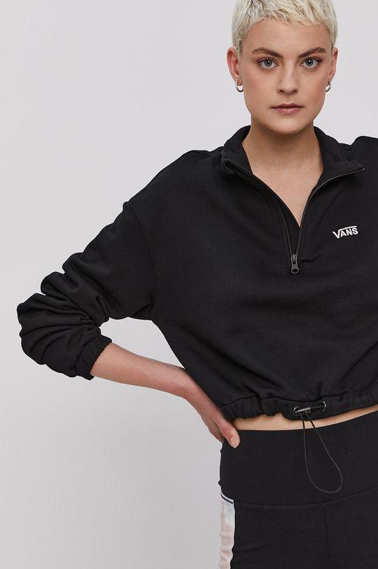 Vans - Bluza bawełniana czarny