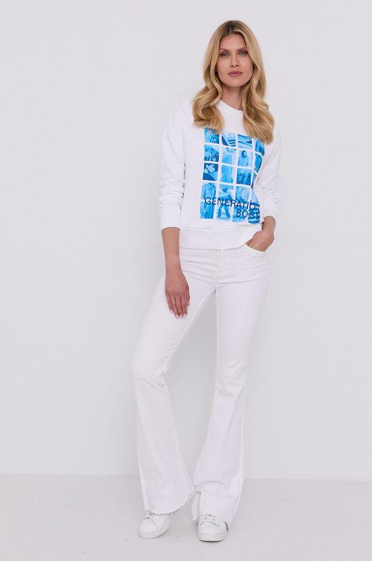 Boss - Bluza biały