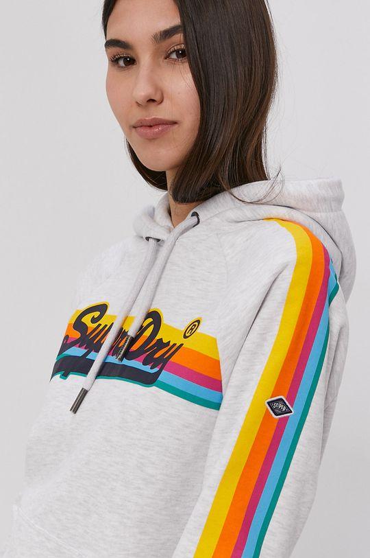 szary Superdry - Bluza