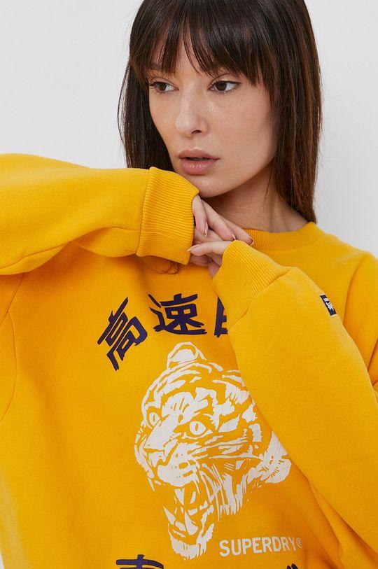 žlutá Superdry - Mikina