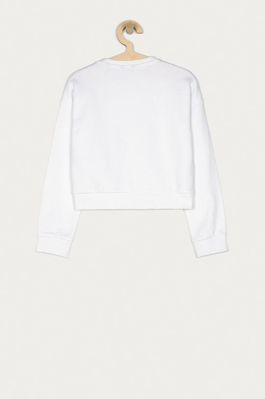 Guess - Hanorac de bumbac pentru copii 116-175 cm alb