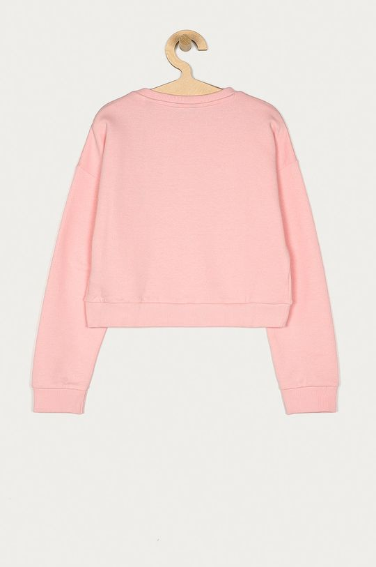 Guess - Hanorac de bumbac pentru copii 116-175 cm roz
