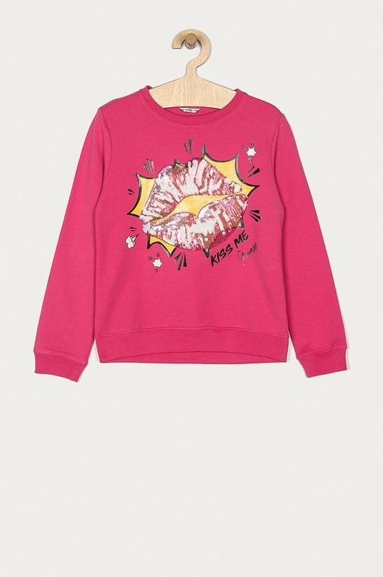 růžová Guess - Dětská mikina 116-175 cm Dívčí