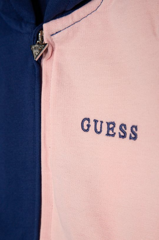 Guess - Bluza bawełniana dziecięca 92-122 cm 100 % Bawełna organiczna