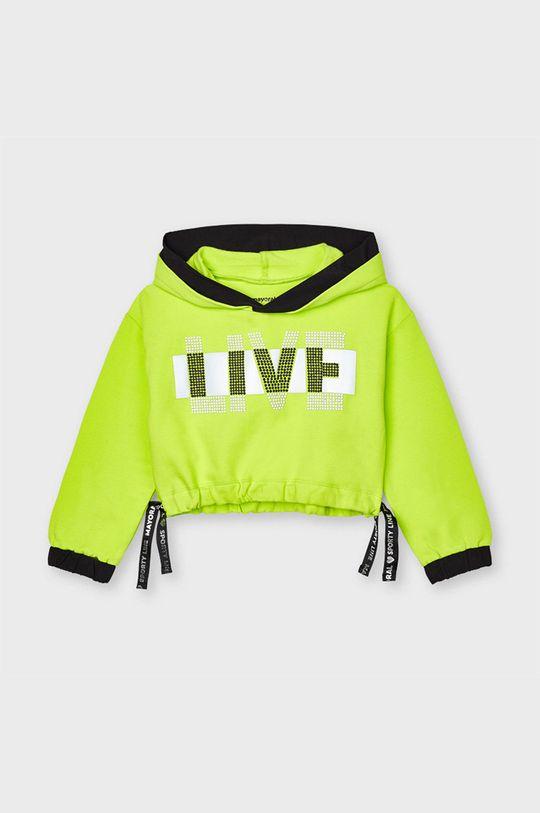 galben – verde Mayoral - Bluza copii De fete