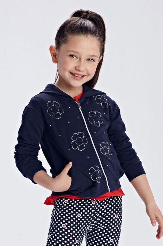 granatowy Mayoral - Bluza dziecięca Dziewczęcy