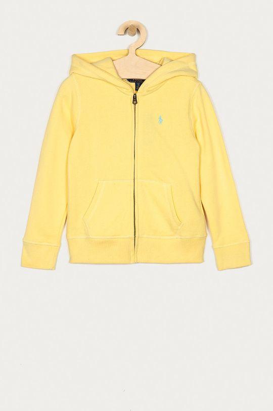 żółty Polo Ralph Lauren - Bluza dziecięca 128-176 cm Dziewczęcy