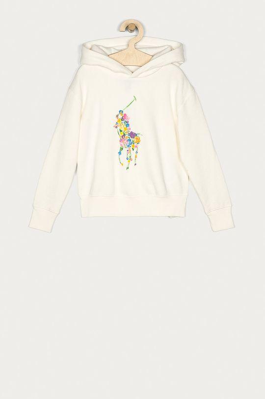 smetanová Polo Ralph Lauren - Dětská mikina Dívčí