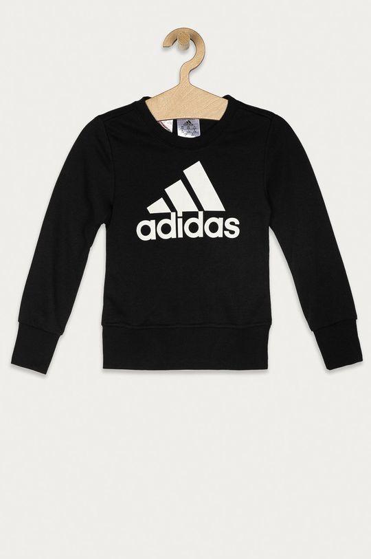 czarny adidas - Bluza dziecięca 104-170 cm Dziewczęcy
