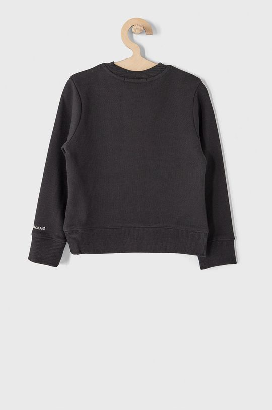 Calvin Klein Jeans - Bluza bawełniana dziecięca 104-176 cm czarny