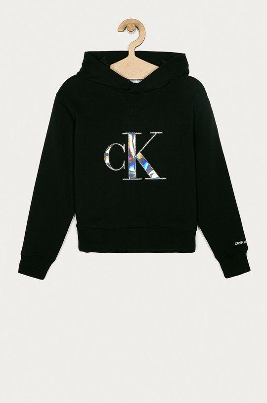 czarny Calvin Klein Jeans - Bluza dziecięca 104-176 cm Dziewczęcy