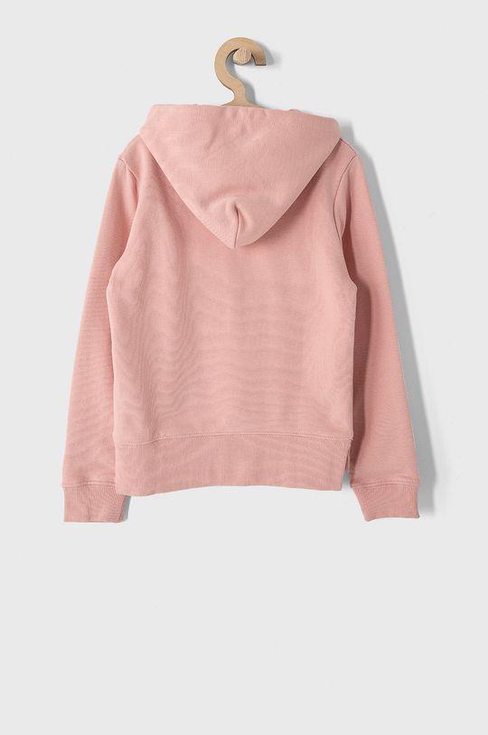 Calvin Klein Jeans - Dětská bavlněná mikina 128-176 cm růžová