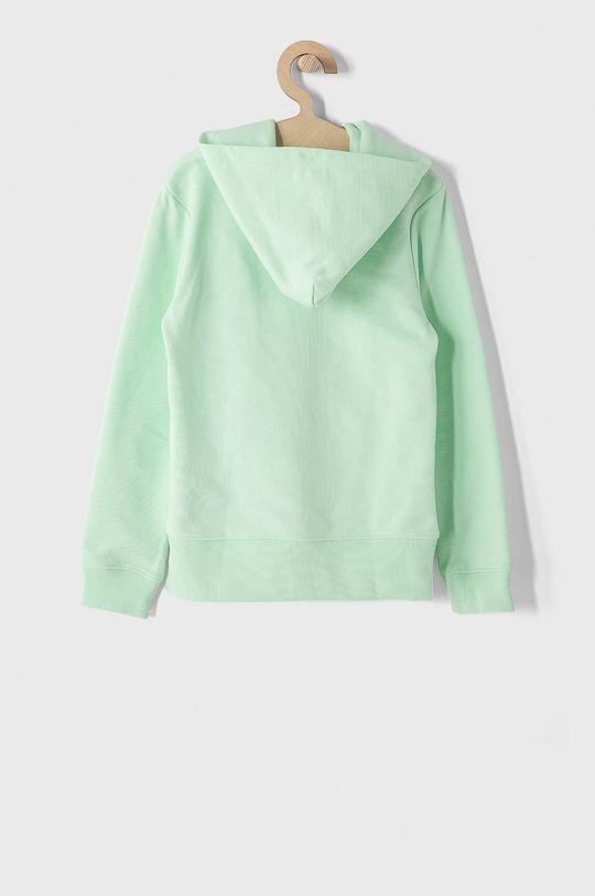 Calvin Klein Jeans - Bluza bawełniana dziecięca 128-176 cm miętowy
