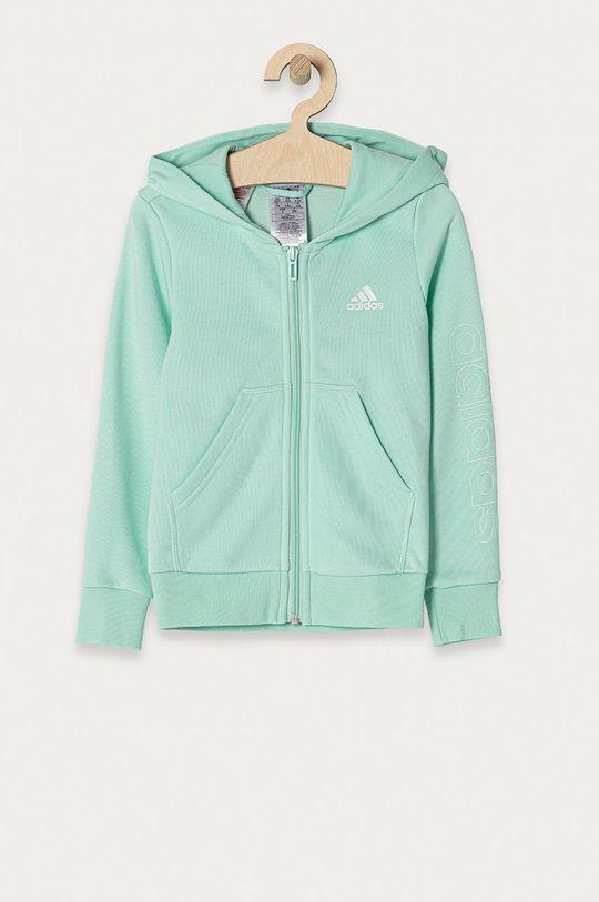 jasny turkusowy adidas - Bluza dziecięca 104-170 cm Dziewczęcy