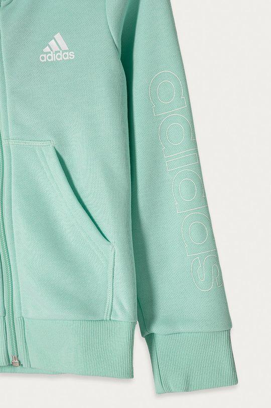 adidas - Bluza dziecięca 104-170 cm jasny turkusowy