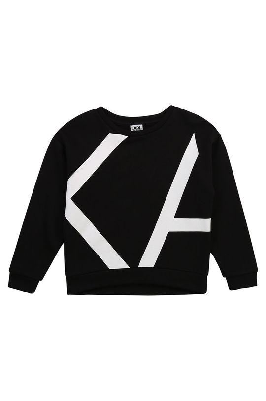 Karl Lagerfeld - Bluza dziecięca czarny