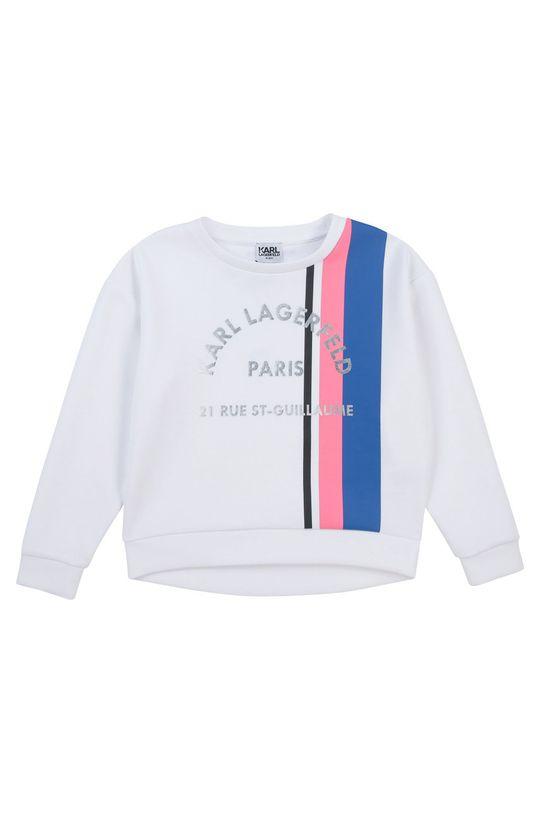 bílá Karl Lagerfeld - Dětská mikina Dívčí