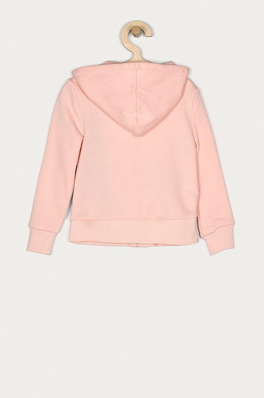 Desigual - Dětská mikina 104-164 cm pastelově růžová