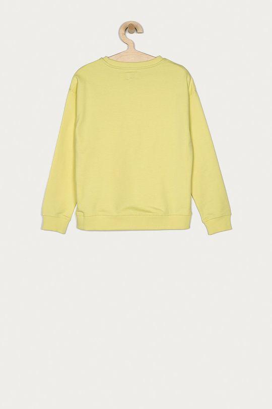 Pepe Jeans - Dětská bavlněná mikina Rose 128-180 cm žlutě zelená