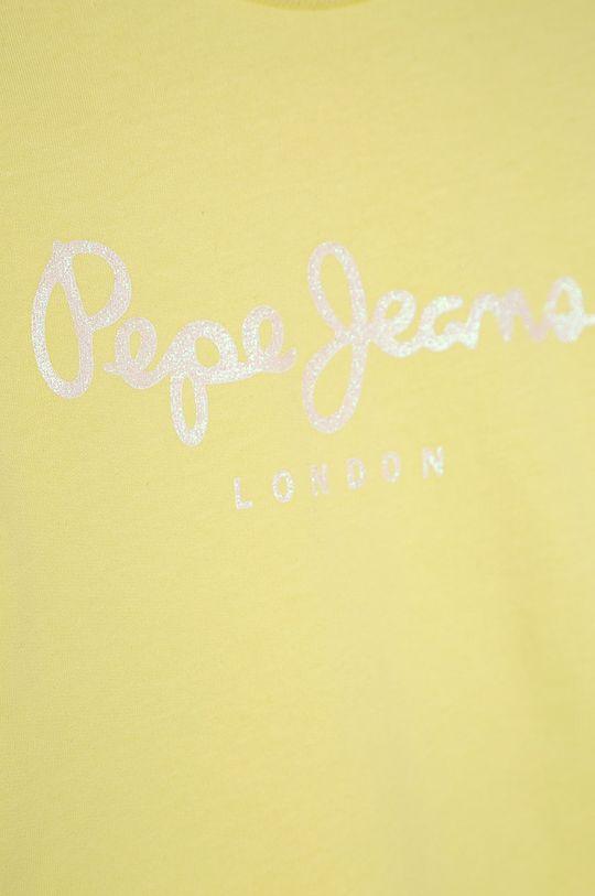 Pepe Jeans - Dětská bavlněná mikina Rose 128-180 cm  100% Bavlna